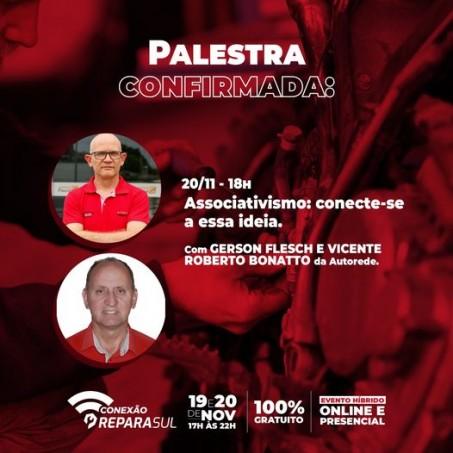 Palestra Online com a AutoRede e Carlos Fortes.