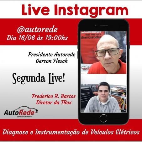 2ª Live c/ Frederico Bastos