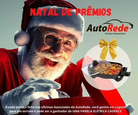 Natal de Prêmios AutoRede.