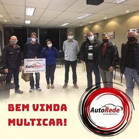 Apresentação Novo Associado AutoRede - Multicar
