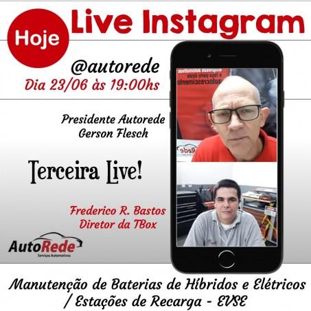 3ª Live Com Frederico Bastos -  Manutenção de Baterias Híbridas e Elétricas